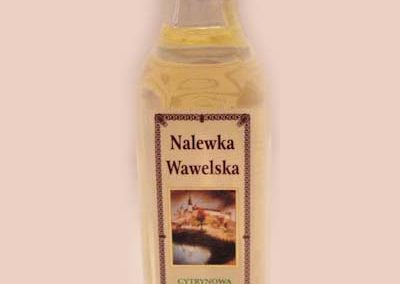 Nalewka Wawelska Cytrynowa