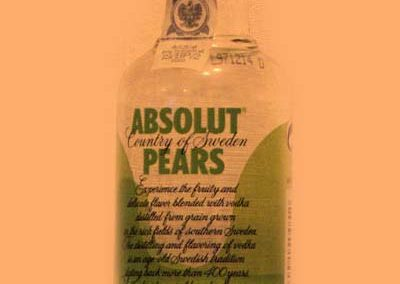 Wodka Absolut Pears